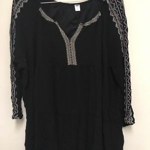 Black dress from old navy size XXL long sleeve